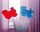 Cutsie Thomas- Choo Choo Train Lollipops- 12 Hard Candy Favors