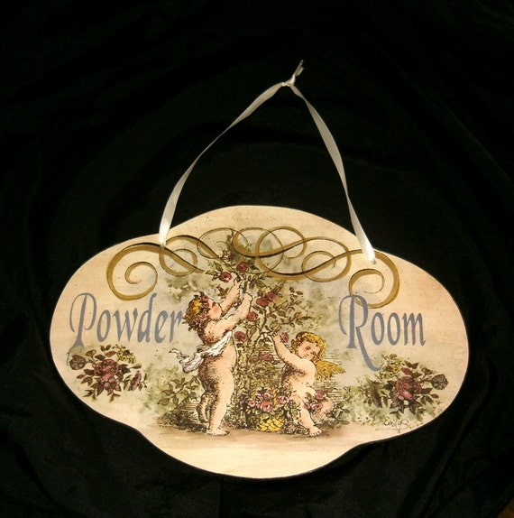 Powder Room Wall Plaques
