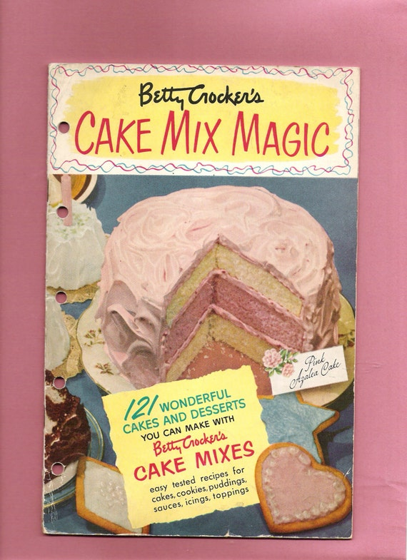 Betty Crocker Cookbook Cake Recipes