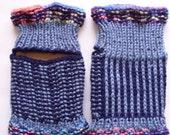 YOGA Socks hand knit. Toeless and heelless socks. Slipper socks, flip flop socks,pediqure socks. Ready to ship