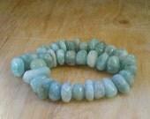 Larimar beads Larimar nuggest 8 inches strand