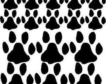 Paw Print Decals Removable Paw Print Stickers