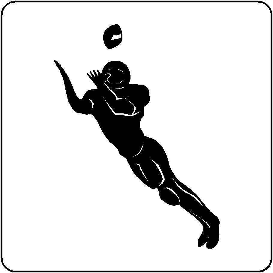 wide receiver football coloring pages - photo#26