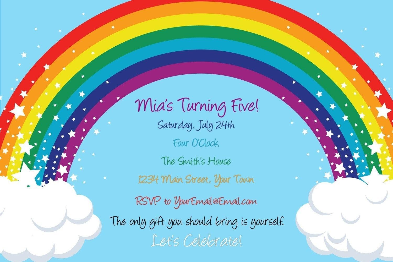 Pony Party Invitation with good invitations layout