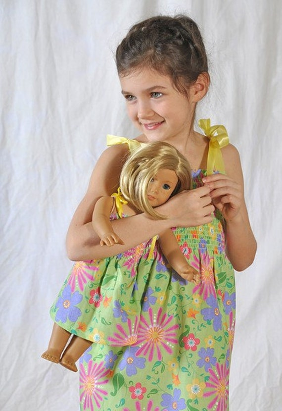 Me & My Doll Matching Smocked Sundresses - Size Small/Medium