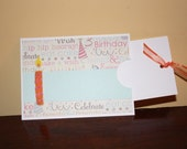 Birthday Candle Gift Card Slider