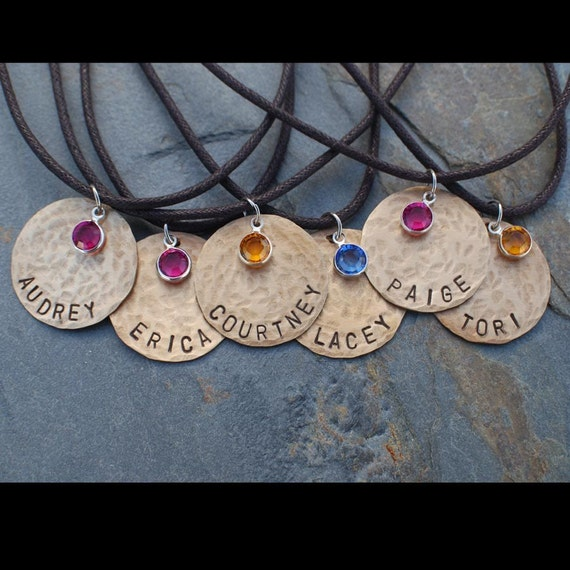 items similar to friendship necklaces set of 6 handsted