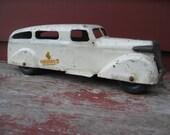 Wyandotte Ambulance Truck Car Vintage Toy Pressed Steel Rare Man Gift Antique