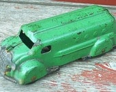 RESERVED For CHAS Wyandotte Truck Bank Antique Vintage Toy Steel Original Rare Collectible
