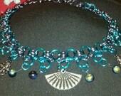 Oriental Fan Chainmaile Necklace