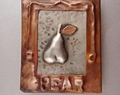 Pear in Frame Pin