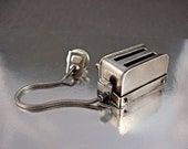 Square Toaster Pin