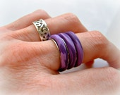 RESERVED for Shluvssh - Polymer Clay Ring
