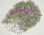 720 pieces 5 gross 3mm 10ss SILVER Metal HotFix Rhinestuds