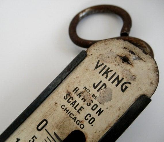 Hanging Scale. Hanson Viking Jr