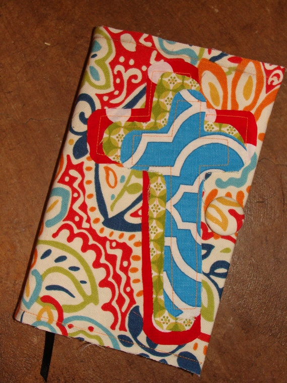 Bible Cover RadicalLY DifFerEnt Original Design with button closure