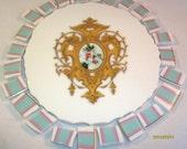 20% Coupon Mosaic Tiles SALE Pink Aqua and Gold Focal China