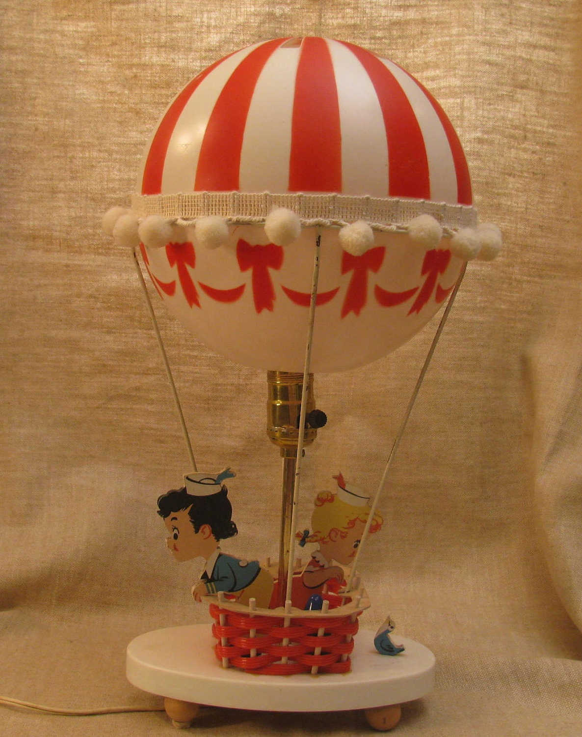 hot air balloon lamp night light dolly toy company. Black Bedroom Furniture Sets. Home Design Ideas