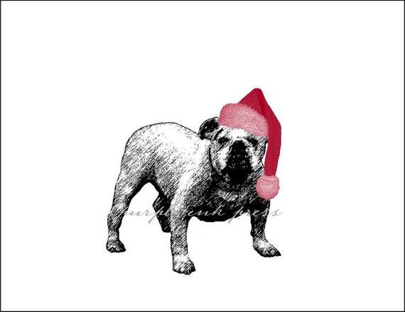 Letterpress Dog Holiday Cards