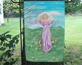 Goddess  Ostara Garden Flag