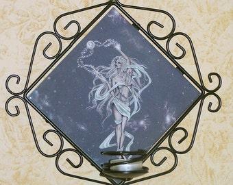 Moon Goddess Wall Sconce