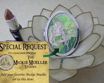 Special Request Compact Fantasy Art Mirror