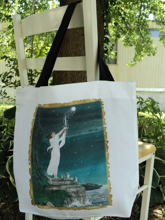 Drawing Down the Moon Tote Bag