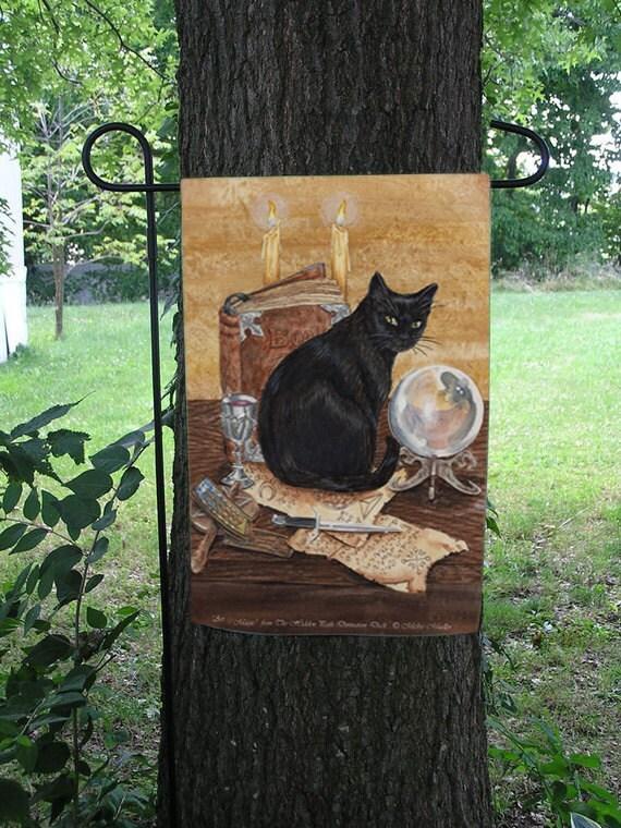 Art of Magic, Black Cat Garden Flag