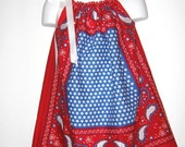 Cute Patriotic Bandana Dress