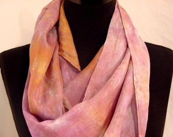 Autumnal Sunset Pure Silk Scarf