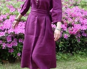 beautiful day purple flax sundress (more colour choose)
