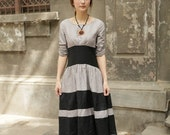 double color grey black sundress(more colour and size choice)