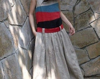 Colorful  sundress(more colour and size choice)-G4