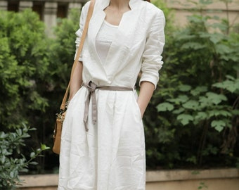 Easy To Love You-White half sleeve long dress(more colour and size choice)
