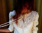 Hidden Treasure mini Dress or tunic- 3/4 sleeves, avant garde. By RawHemline on Etsy