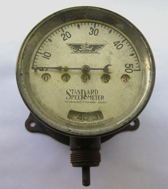 Antique Ford Standard Speedometer - 1914 TO 1915