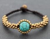 Turquoise Saturn Bracelet