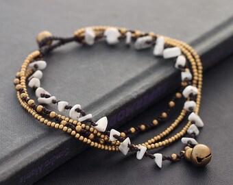 Howlit Boho Chain Anklet