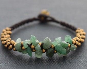 Jade Bunch Bracelet