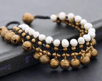 Pearl Lace Water Drop Bracelet