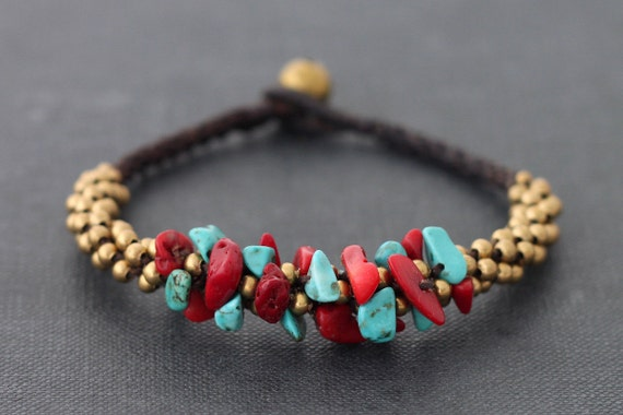 Fire And Ice Bunch Bracelet