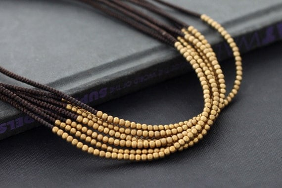 Bunch Layer Woven Necklace