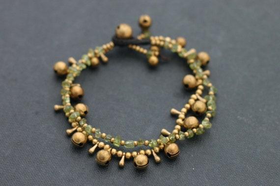 Sunshine Chain Peridot Bracelet