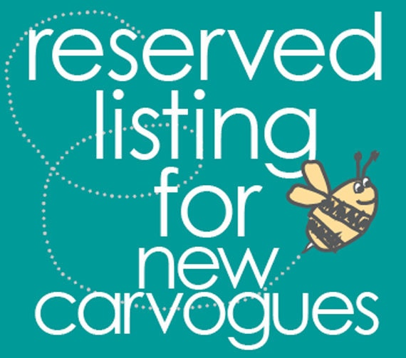 RESERVED LISTING FOR newcarvogues