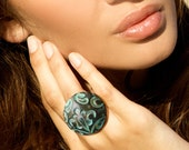 A set of a ring and earrings Ancien régime