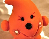 ORANGE PARKER - Polymer Clay Character - Limited Edition