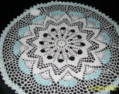 Round Doily with Flowers