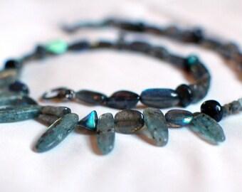 Blue Kyanite Queen's Collar