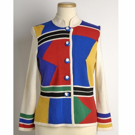 Vintage 1960s PRIMARY Sweater (S/M)