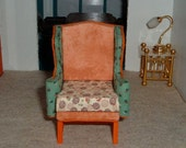 Miniature Upcycled Wingchair